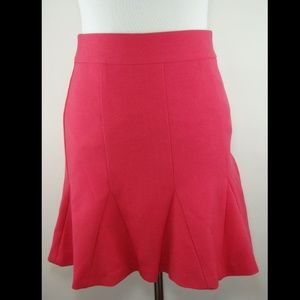 Banana Republic Pink Fit And Flare Skirt NEW